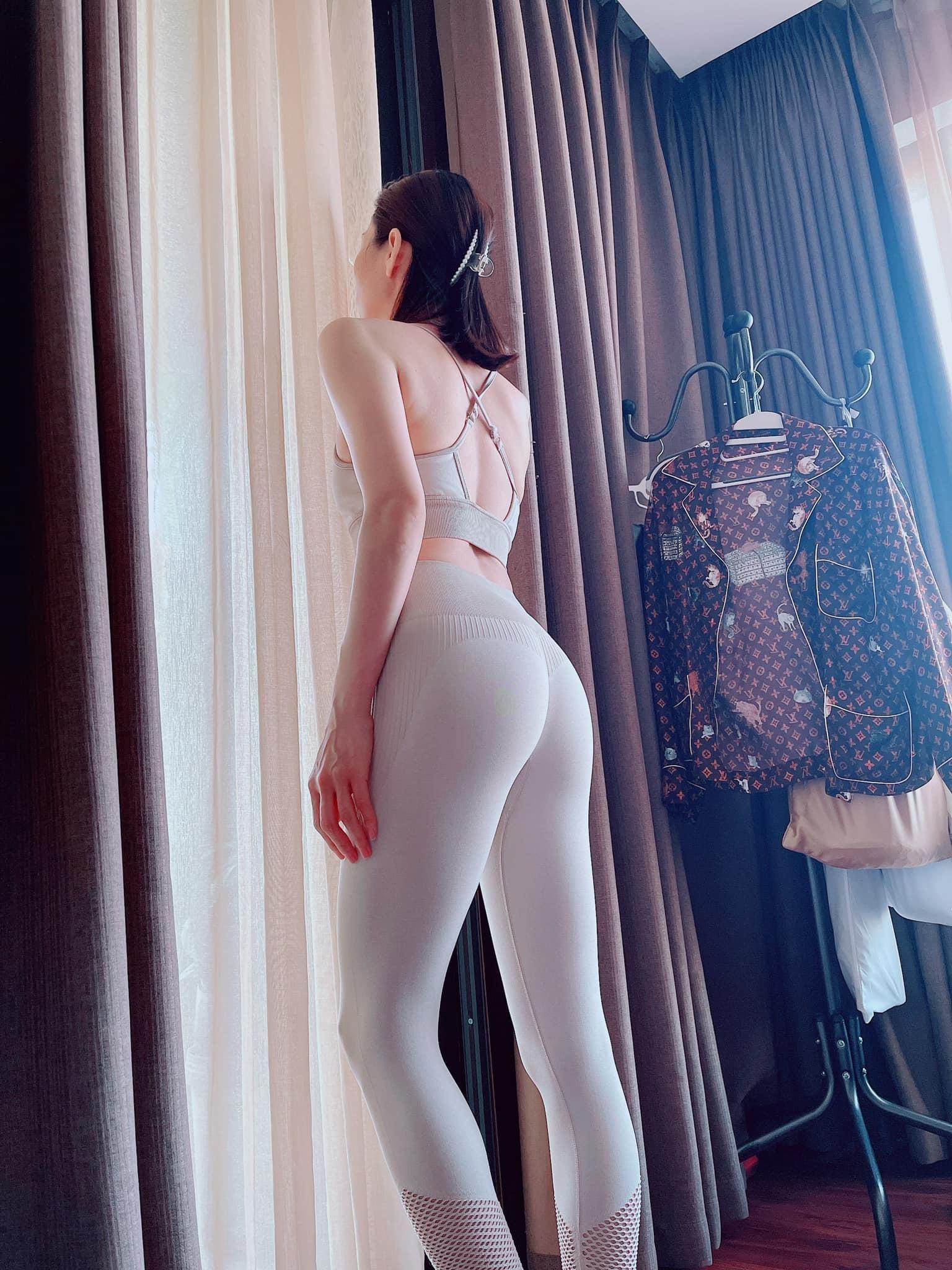 MC Mai Ngọc, Lệ Quyên đường cong nóng bỏng nhờ chăm tập luyện
