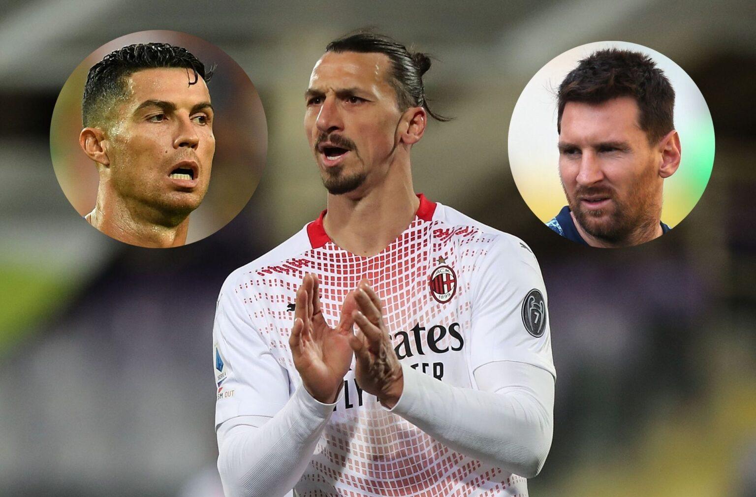 Ibrahimovic: 'Tôi là giỏi nhất, Messi và Ronaldo không hơn được đâu'
