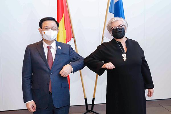 Chuyến thăm Phần Lan đầu tiên của Chủ tịch Quốc hội Việt Nam sau 28 năm