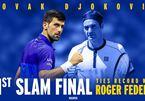 Djokovic san bằng kỷ lục 31 lần vào chung kết Grand Slam của Federer