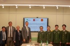 Bộ Quốc phòng tiếp nhận lô thuốc hỗ trợ điều trị Covid-19 từ TP. St. Petersburg