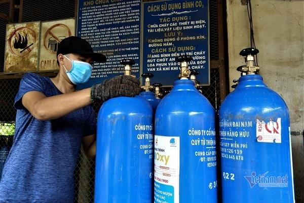 Biến nhà máy thép thành trạm bơm oxy cứu người