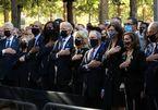 Mỹ tưởng niệm 20 năm vụ khủng bố 11/9, ba đời tổng thống tham dự