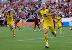"""Erling Haaland lập cú đúp, Dortmund thắng trận """"điên rồ"""""""