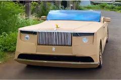 Rolls-Royce 28 triệu USD phiên bản bìa cát-tông