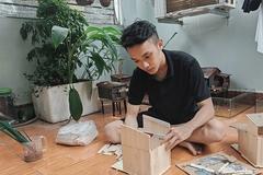 Aquarium enthusiast builds miniature Mekong River homes