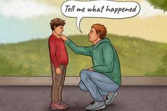 Những điều cần làm khi ai đó la mắng con bạn
