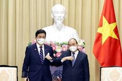 Chủ tịch nước, Thủ tướng tiếp Bộ trưởng Quốc phòng Nhật Bản