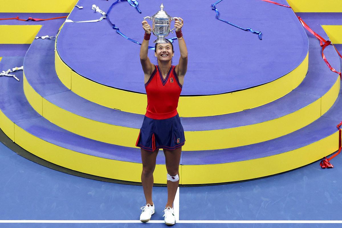 Raducanu vô địch US Open: Vẻ đẹp và sự hoàn hảo