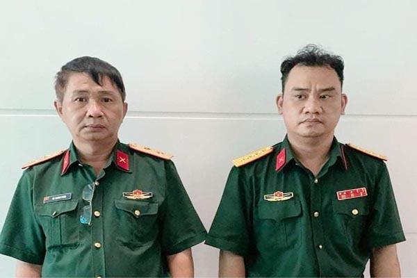 Khởi tố 2 đối tượng giả mạo sĩ quan cao cấp của Quân đội ở TP.HCM