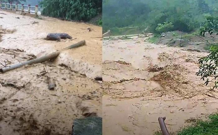 Lũ chia cắt nhiều nơi vùng núi TT-Huế, Quảng Trị, 37 người đi rừng 'đứt' liên lạc
