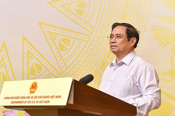 """Thủ tướng Phạm Minh Chính phát động Chương trình """"Sóng và máy tính cho em"""""""