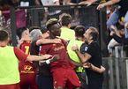 Roma thắng kịch tính trận đấu đặc biệt của ông thầy Mourinho