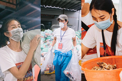 Chuyện xúc động của các nghệ sĩ tình nguyện đi chống dịch