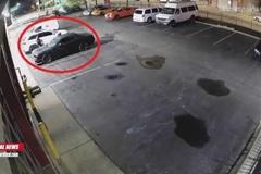 Dodge Challenger bị nhóm đối tượng đánh cắp tráo trợn