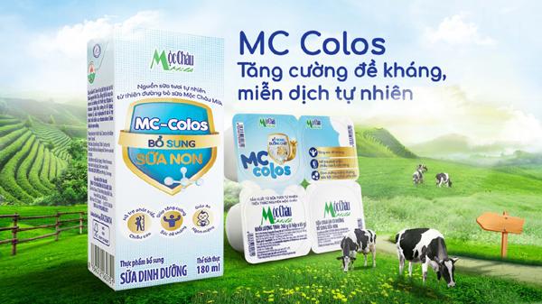 Ra mắt bộ đôi sản phẩm Mộc Châu Milk bổ sung sữa non