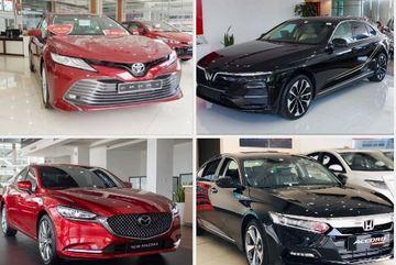 Xe sedan giá 1 tỷ ế ẩm, doanh số Toyota Camry 'rơi tự do'