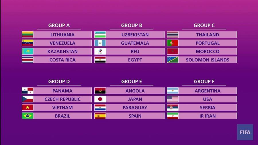 World Cup Futsal 2021: CH Séc đè bẹp Panama
