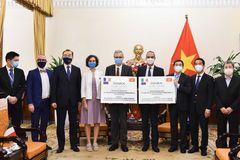 Việt Nam tiếp nhận 1,5 triệu liều vắc xin AstraZeneca do Pháp và Italy tặng