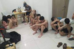 9 nam nữ 'mở tiệc' ma túy trong căn hộ cao cấp ở Hà Nội