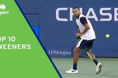 Những cú ghi điểm Tweeners đỉnh nhất US Open 2021