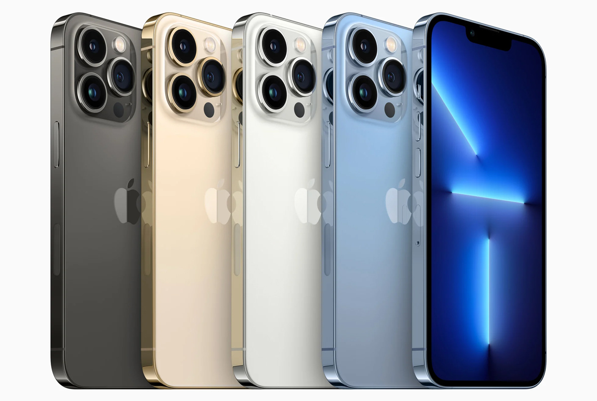 iPhone 13 Pro và iPhone 13 Pro Max đấu các đối thủ: Trận chiến màn hình