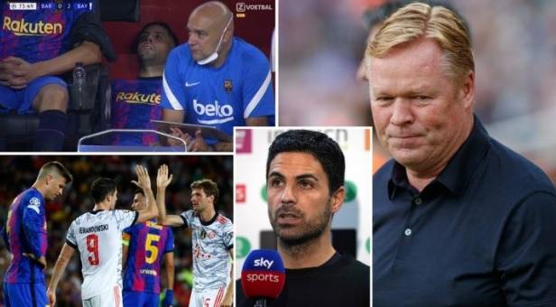 Barca trở thành 'Arsenal tại La Liga' sau thảm bại trước Bayern
