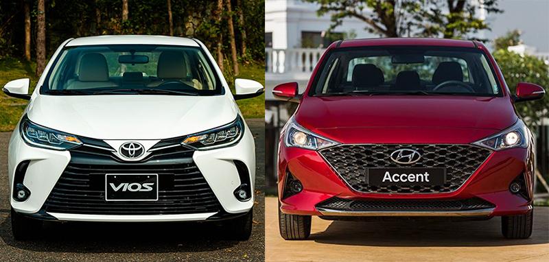 Với 510 triệu, mua Toyota Vios E hay Hyundai Accent cao cấp?