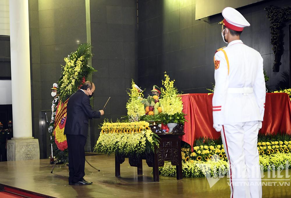 Lãnh đạo Đảng, Nhà nước viếng Đại tướng Phùng Quang Thanh