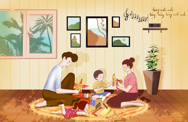 5 gợi ý đón Trung thu tại nhà tròn vị yêu thương