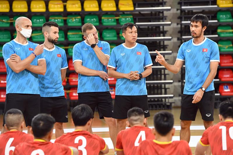 HLV futsal Việt Nam: Phải giành 3 điểm trước Panama