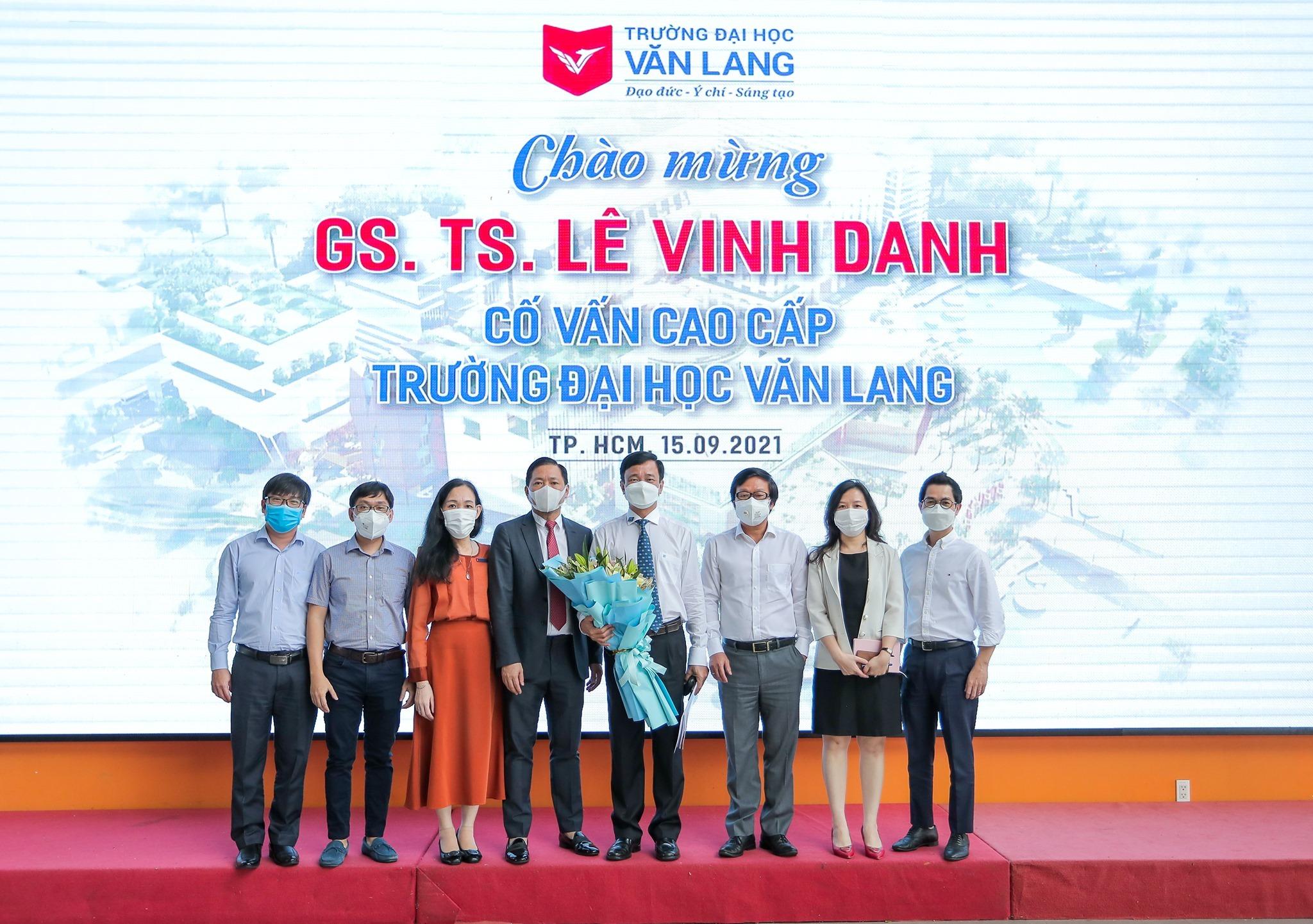 Ông Lê Vinh Danh làm cố vấn cao cấp ĐH Văn Lang