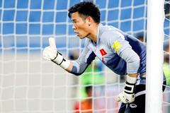 Thầy Park bổ sung thủ môn Nguyên Mạnh đấu Trung Quốc