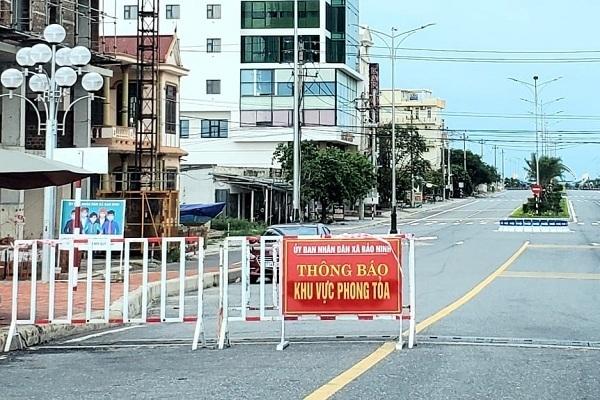 Nhiều huyện xã ở Quảng Bình được nới lỏng chống dịch từ Chỉ thị 16 xuống 15