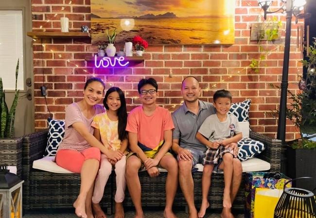 Biệt thự sang trọng tại Mỹ của vợ chồng Hồng Ngọc và 3 con