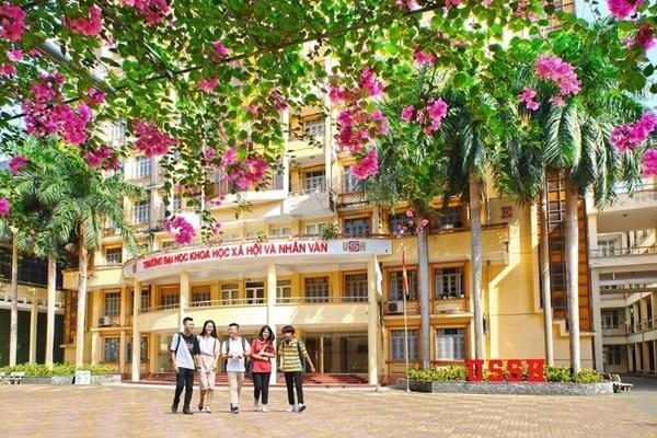 ĐH Khoa học Xã hội & Nhân văn Hà Nội lấy điểm chuẩn cao nhất là 30