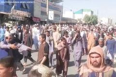Hàng nghìn người Afghanistan biểu tình phản đối Taliban