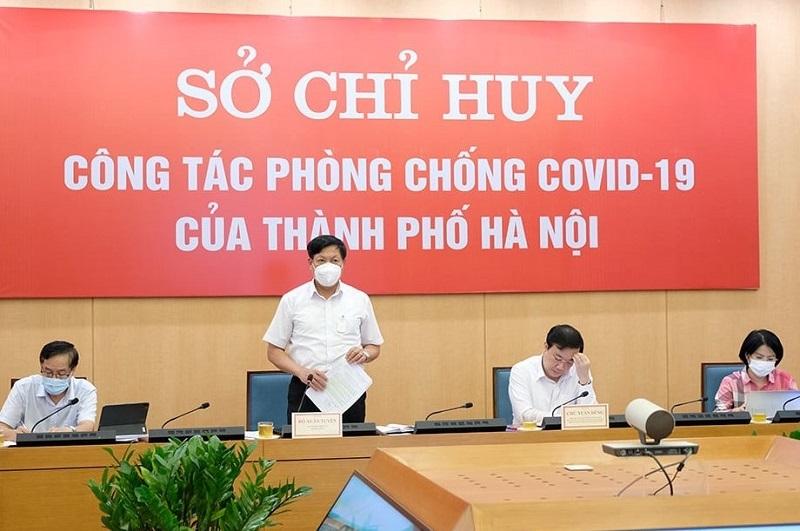 Thứ trưởng Y tế: Hà Nội phải xác định nhiệm vụ phòng chống dịch là cơ bản, lâu dài
