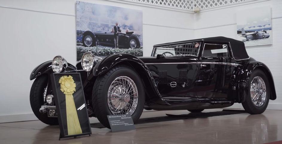 Choáng ngợp trước BST xe cổ Bentley, Cadillac, Ferrari độc nhất vô nhị