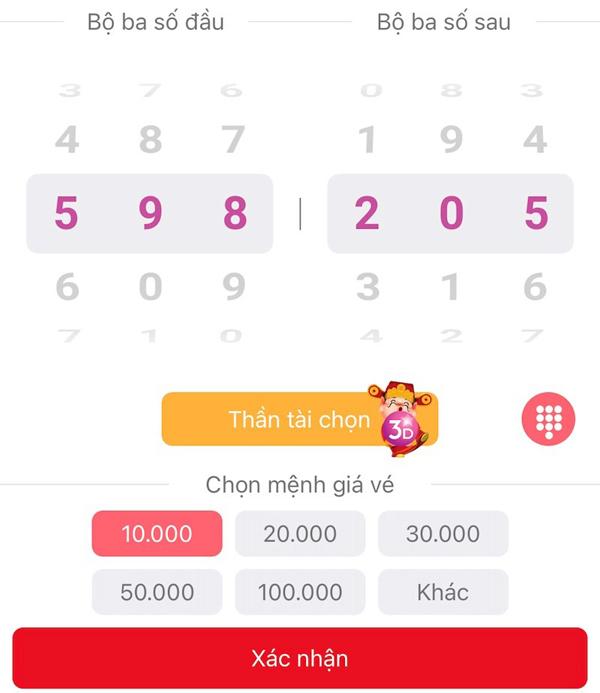 Chơi xổ số Max 3D Pro trên điện thoại, cơ hội trúng 30 tỷ đồng