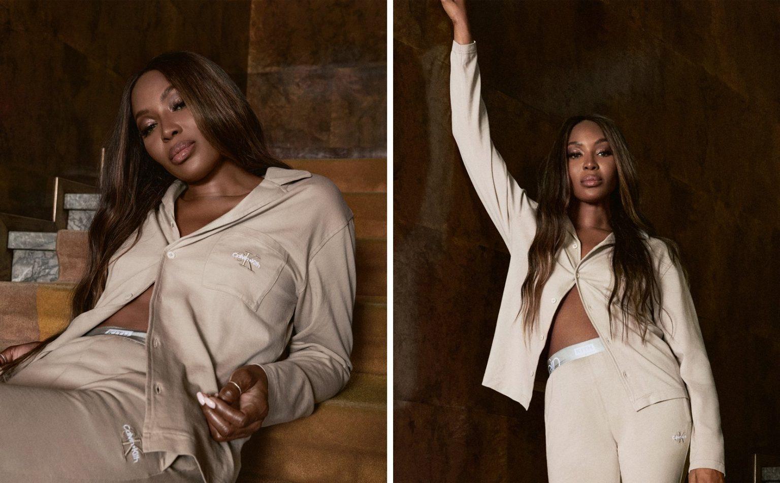 Naomi Campbell bán nude chụp ảnh thời trang ở tuổi 51