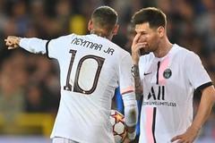 PSG hòa thất vọng: Không có phép màu từ Messi