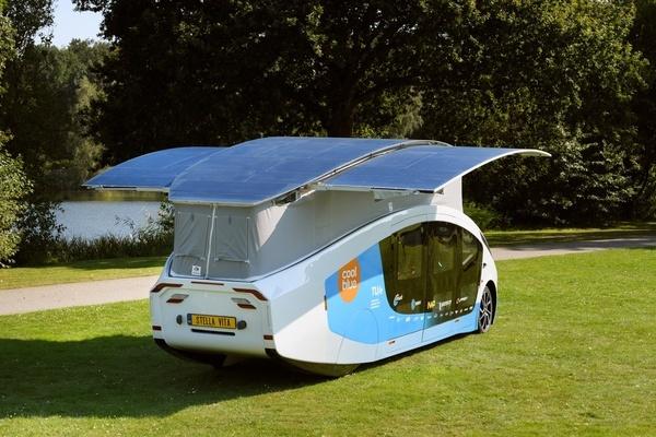 Mobilehome chạy bằng năng lượng mặt trời đầu tiên trên thế giới
