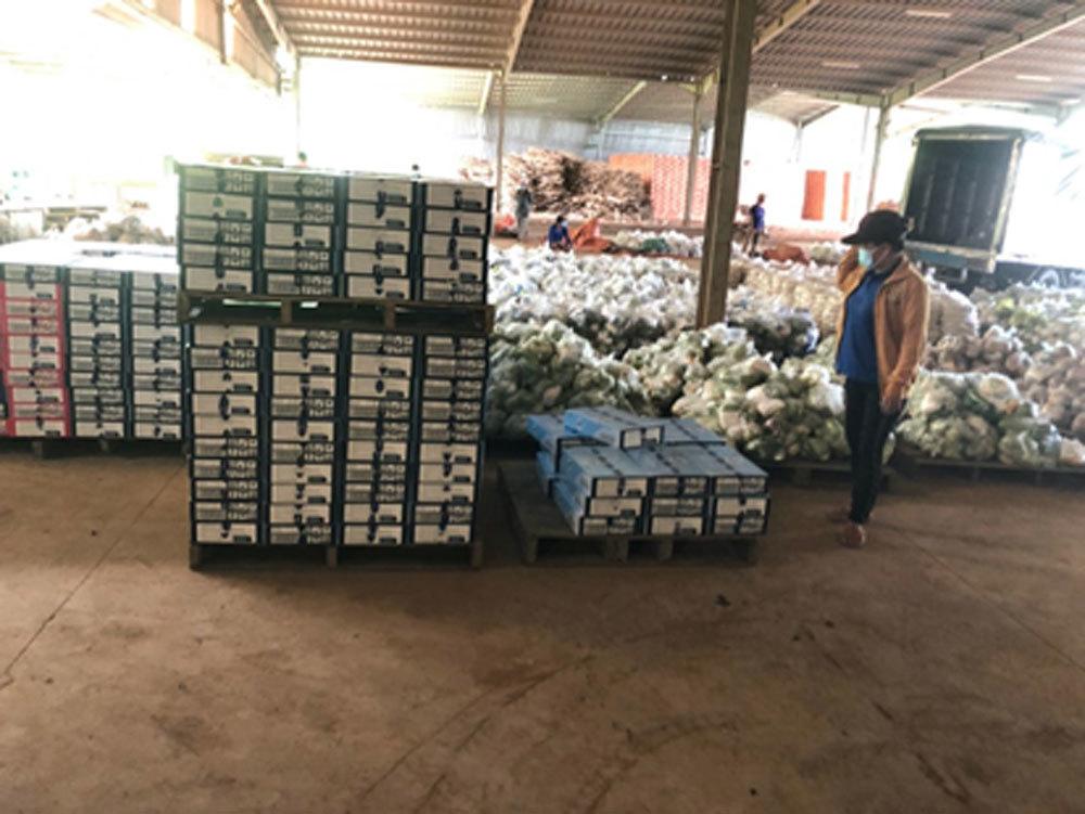 Tăng thêm combo nông sản đến tay người dân TP.HCM
