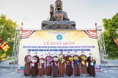 Tăng ni tỉnh Nam Định tiếp tục tình nguyện tham gia tuyến đầu chống dịch Covid-19