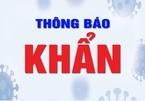 Lái xe F0 đến điểm tiêm vắc xin, một phường ở Hà Nội thông báo khẩn