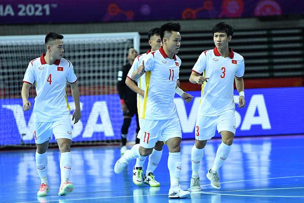 BXH tuyển futsal Việt Nam tại World Cup Futsal 2021