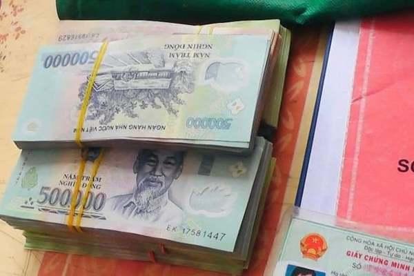 TP Hải Dương thu hồi quyết định khen thưởng người nhặt được 200 triệu đồng