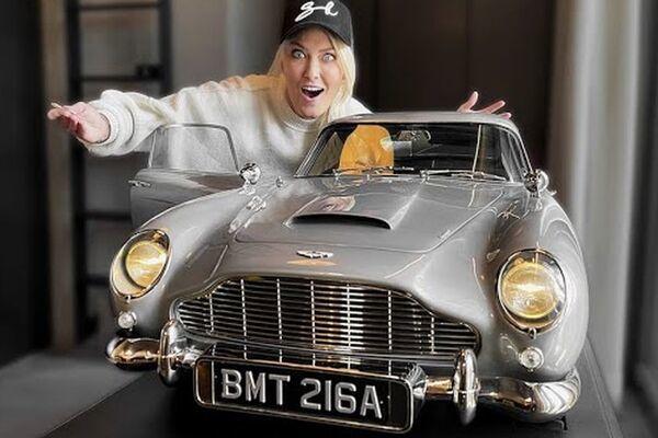 Chiếc ô tô đồ chơi Aston Martin DB5 đắt nhất thế giới