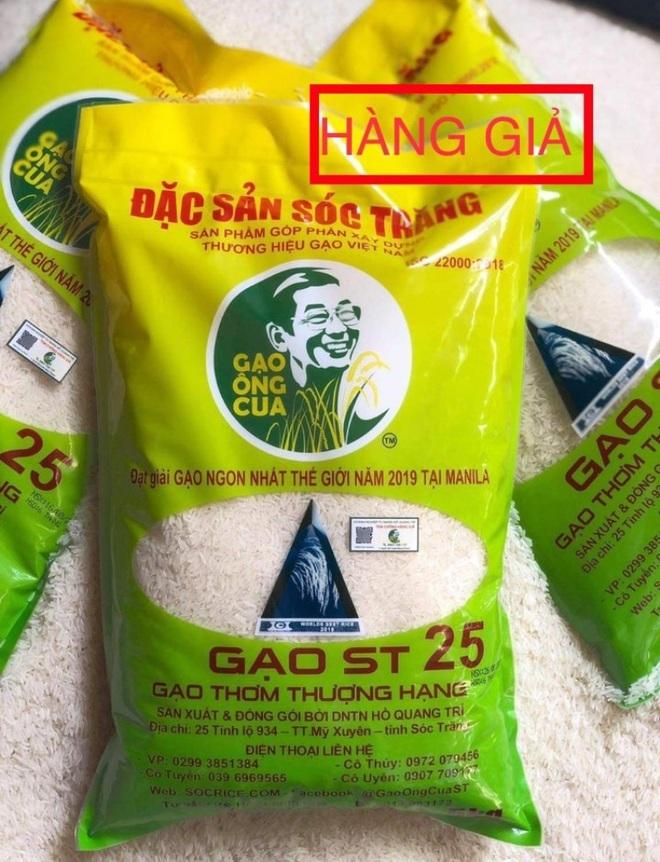 Gạo ngon nhất thế giới của ông Hồ Quang Cua lại tiếp tục bị làm giả
